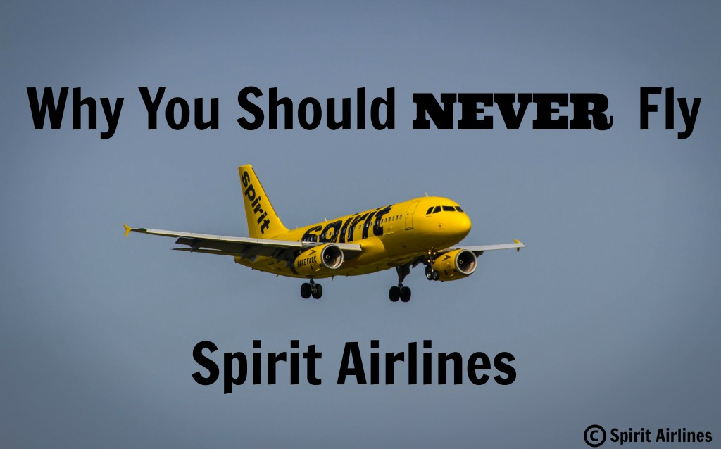 Why you should never fly spirit airlines eva explores for Book a flight with spirit airlines
