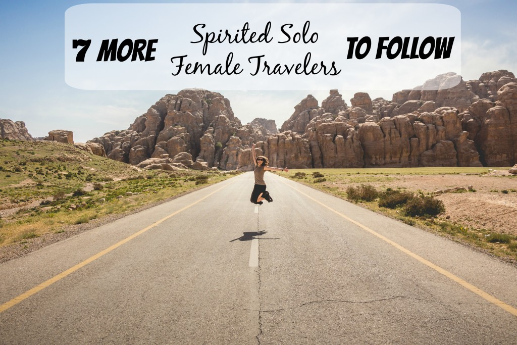 female travelers to follow