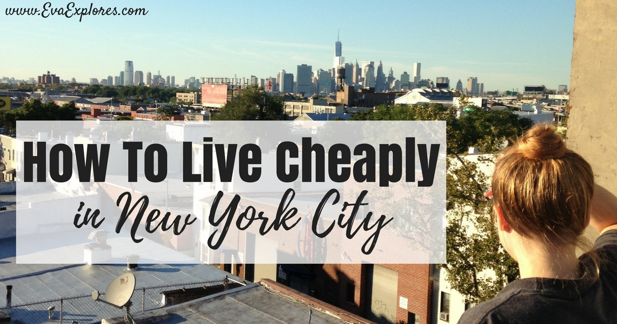 Live Cheaply in New York City