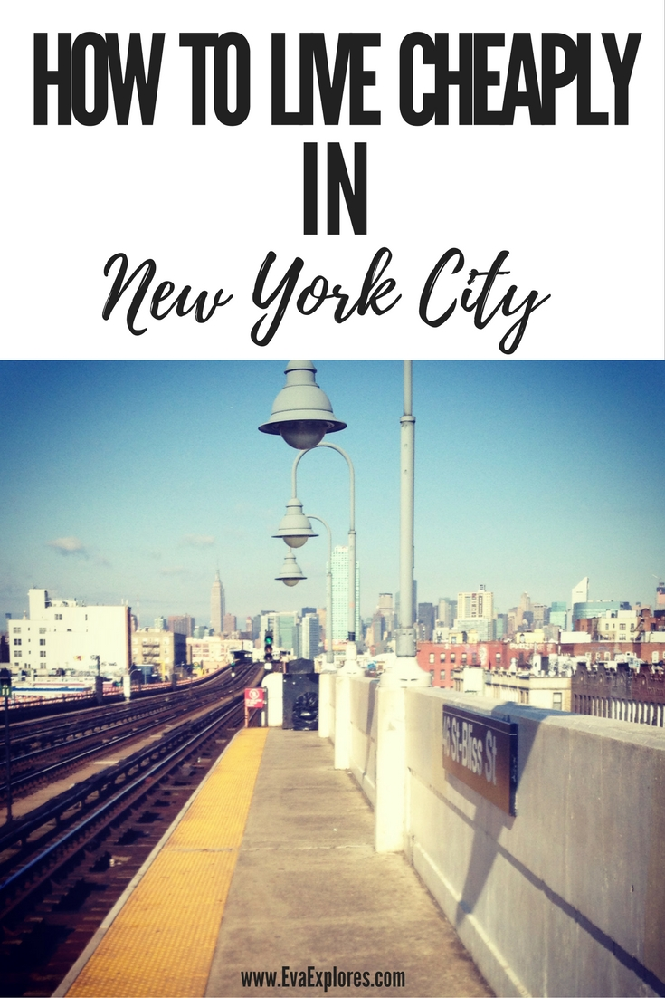How To Live Cheaply In New York City
